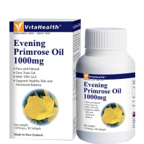 Vitahealth Evening Primrose Oil 1000mg