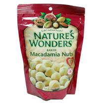Nature's Wonders Baked Macadamia Nuts
